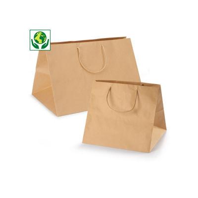 Maxi-saco castanho