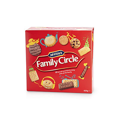 McVities Family Circle Assorted Biscuits - 620g