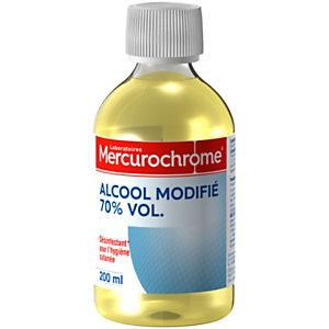 Mercurochrome Alcool  - 70° modifié - flacon de 200 ml