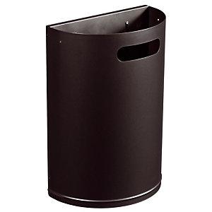 Metalen vuilnisbak 20 L mangaangrijs