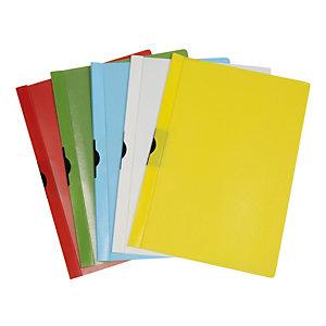 METHODO Cartellina con molla Spring File - PPL - 22x31 cm - dorso 5 mm - verde - Methodo