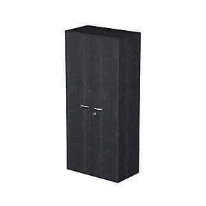 Meuble haut Pronto Métal 2 portes Noir