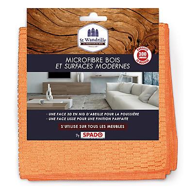 Microfibre 2 en 1 bois et surfaces modernes