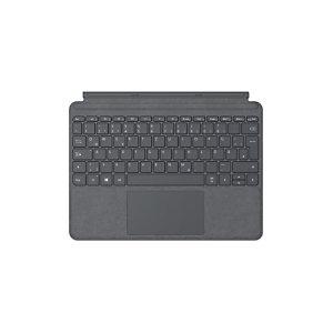 Microsoft Go Type Cover, QWERTZ, Anglais, Molette de défilement, Mini, Platine, 245 g KCT-00105
