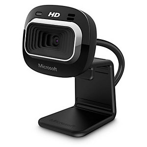 Microsoft LifeCam HD-3000 for Business, 1 MP, 1280 x 720 pixels, 30 ips, 720p, 4x, 1280 x 800 T4H-00004