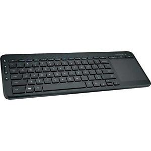 Microsoft N9Z-00014, Estándar, Inalámbrico, RF inalámbrico, Interruptor mecánico, QWERTY, Negro