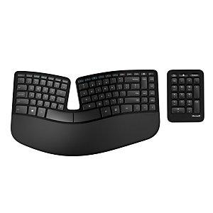 Microsoft OEM Sculpt Ergonomic Keyboard For Business  Ensemble clavier et pavé numérique - sans fil 2.4 GHz - azerty