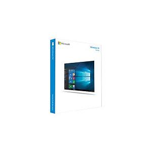 Microsoft Windows 10 Home, Fabricant d'équipement d'origine (OEM), Produit complètement emballé (FPP), 1 licence(s), 20 Go, 2 Go, 1 GHz KW9-00145