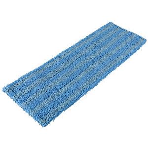 Microvezelmop voor platte schoonmaakbezem met lipjes