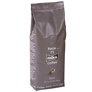 Miko® Café moulu Onyx, Arabica, Robusta, sachet, 1 kg