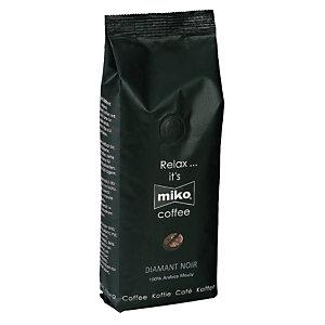 Miko® Café moulu Diamant Noir, Arabica, sachet, 250 g