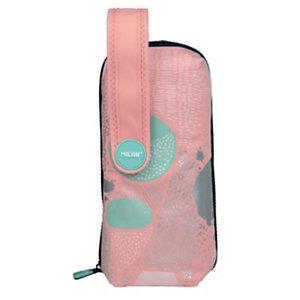 MILAN Edición especial Silver V Kit de 4 estuches extraíbles con contenido, rosa