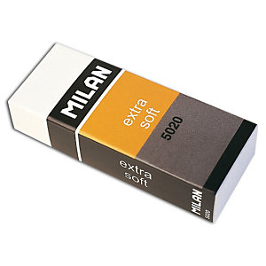MILAN Goma de borrar 5020 Extra Soft