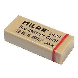 MILAN Master Gum Blister de 2 gomas de borrar