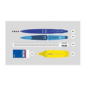 MILAN Terrazzo Blue Kit 1 estuche con contenido, azul marino