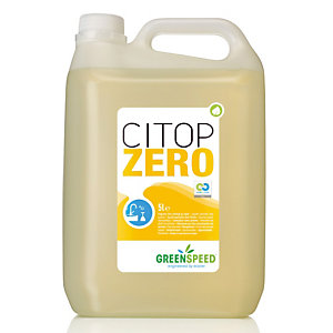 Milieuvriendelijk afwasmiddel Greenspeed Citop Zero 5 L