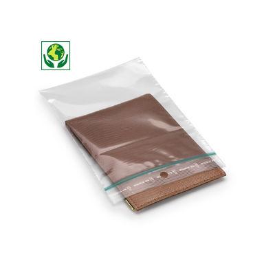 Sachet zip 60 microns 50 % recyclé##Milieuvriendelijk gripzakje 60 micron