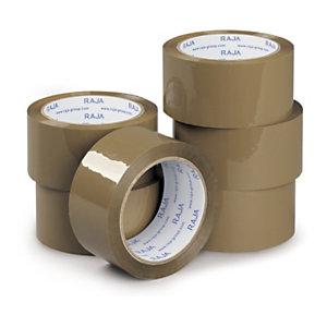 Mini-colis 6 adhésifs polypropylène standard 28 microns RAJA