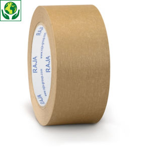 Mini-colis 6 rubans adhésif papier standard 57 g/m² RAJA