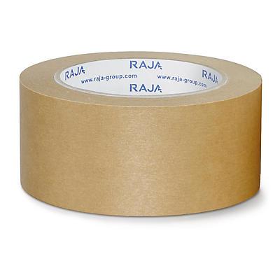Mini-colis papier adhésif avec colle en caoutchouc##MINI PACK Papier-Packband RAJA braun