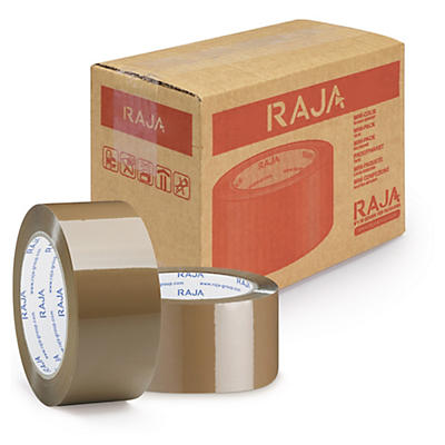 Mini-colis ruban adhésif polypropylène RAJATAPE qualité industrielle