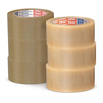 Mini colis Ruban adhésif PVC Tesa - Ultra-résistant, 38 microns