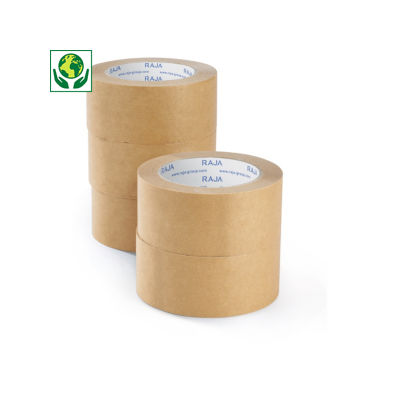 Mini confezione di nastri adesivi in carta kraft RAJA
