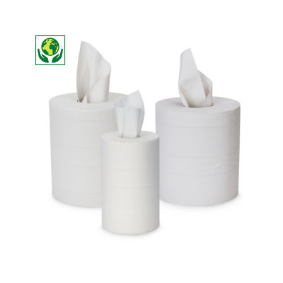 Mini- en maxirollen schoonmaakpapier