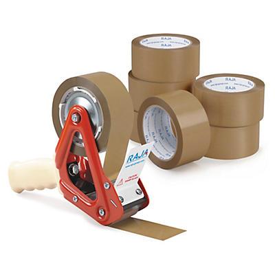 Mini-pack ruban adhésif PVC RAJA##Set PVC Packband Handabroller