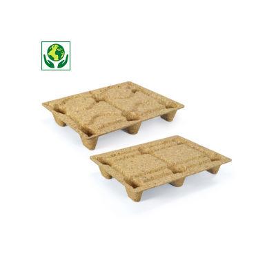 Mini-palette moulée bois INKA
