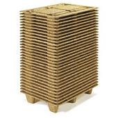 Mini-palette moulée bois Inka##Mini houtvezelpallet Inka