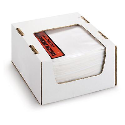 """Mini paquete 250 bolsas portadocumentos RAJA® con mensaje """"contiene documentación"""""""