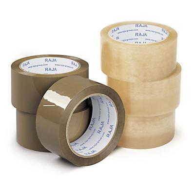Mini paquete de 6 rollos de cinta adhesiva polipropileno adhesión superior RAJA®