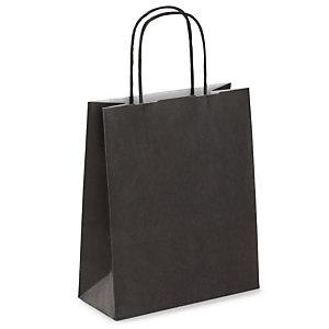 Mini Shopper, 18 x 24 x 8 cm, Nero (confezione 50 pezzi)
