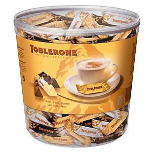 Mini Toblerone, assortiment, seau de 113 x 8 g