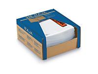 """Minipack med 250 pakkseddellommer - 70 my - med trykk """"Pakkseddel"""""""