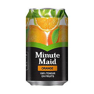 MINUTE MAID Boites jus Orange 33 cl (Lot de 24)