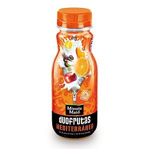 MINUTE MAID Duofrutas Mediterráneo Bebida refrescante de zumo de frutas y leche desnatada, 275 ml