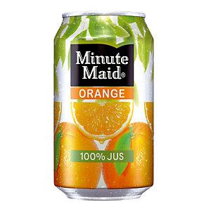 Minute Maid Orange, en canette, lot de 24 x 33 cl