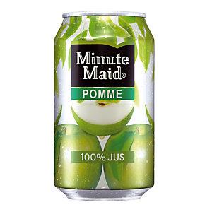 Minute Maid Pomme, en canette, lot de 24 x 33 cl