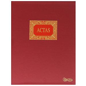 MIQUELRIUS M Libro de actas, hojas móviles, Folio natural