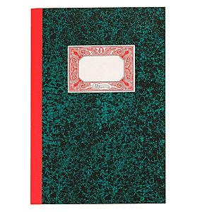 MIQUELRIUS M Libro de caja cartoné, Folio natural, debe-haber, 215 x 315 mm