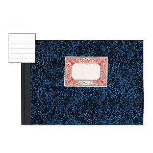 MIQUELRIUS M Libro cartoné, Folio apaisado, rayado horizontal, 315 x 215 mm