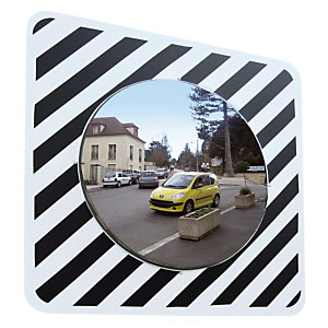 Miroir d'agglomération Vialux® inox ø 60cm