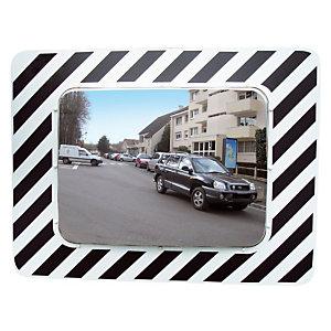Miroir d'agglomération Vialux® en polymir 80 x 60 cm