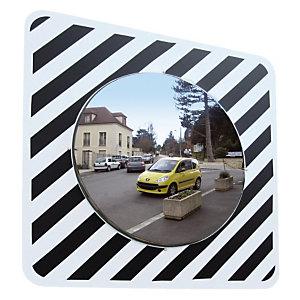 Miroir d'agglomération Vialux® en polymir ø 60 cm