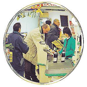 Miroir d'intérieur de surveillance Décorativ ø 40 cm