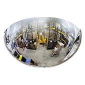 Miroir de sécurité intérieur hémisphérique 1/4 de sphère POLYMIR