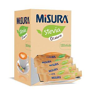 MISURA Dispenser 130 bustine dolcificante Stevia 0 calorie
