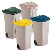 Mobile affalsspande 100 liter